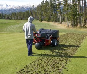 procore-648-golf-aerating-green-second-pass