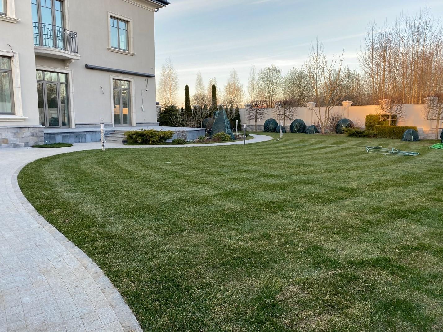 Весенняя подготовка газона к сезону